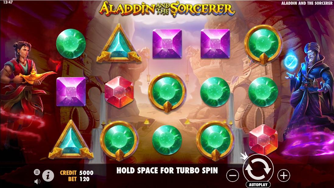 Aladdin и Sorcerer игровой автомат