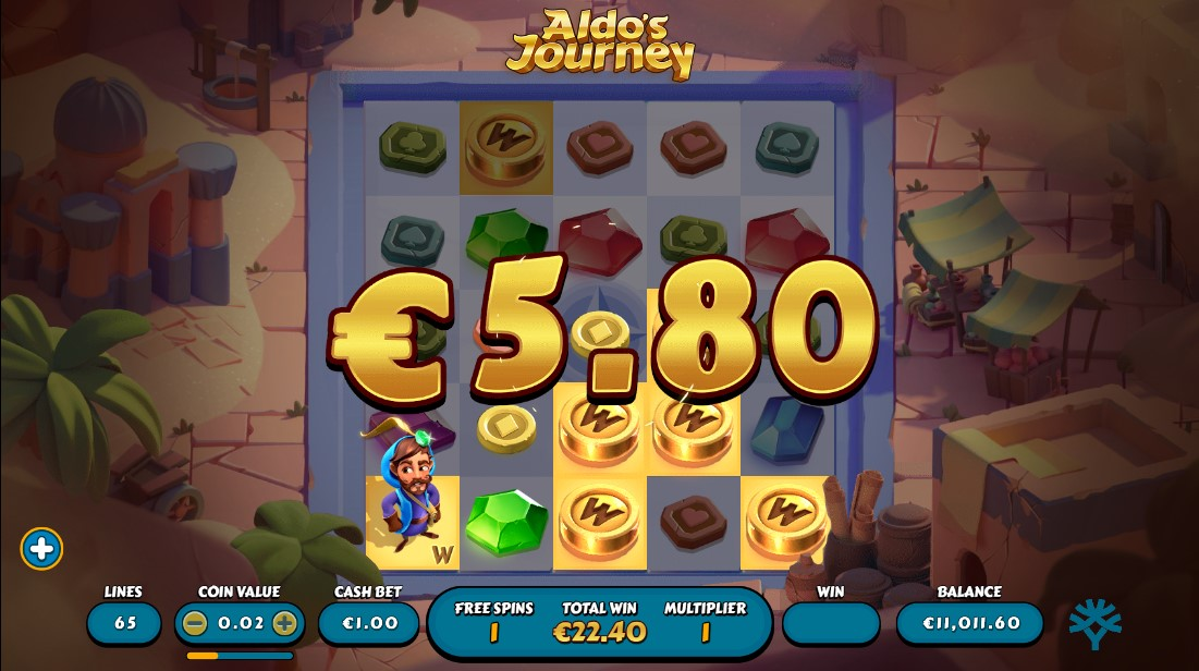 Игровой автомат Aldo's Journey