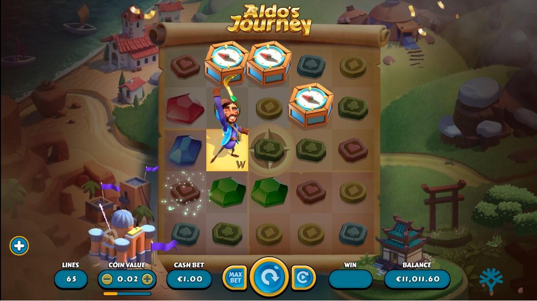 Aldo's Journey игровой автомат