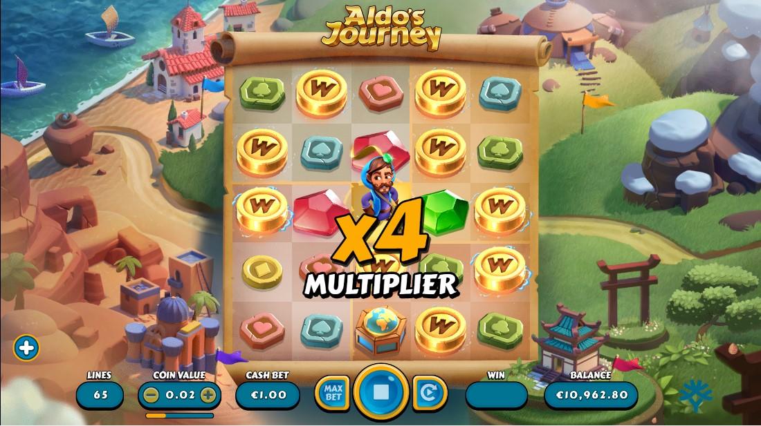 Слот Aldo's Journey играть