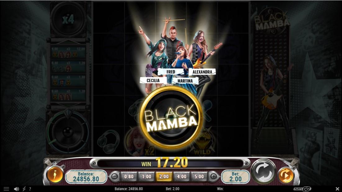 Играть бесплатно Black Mamba