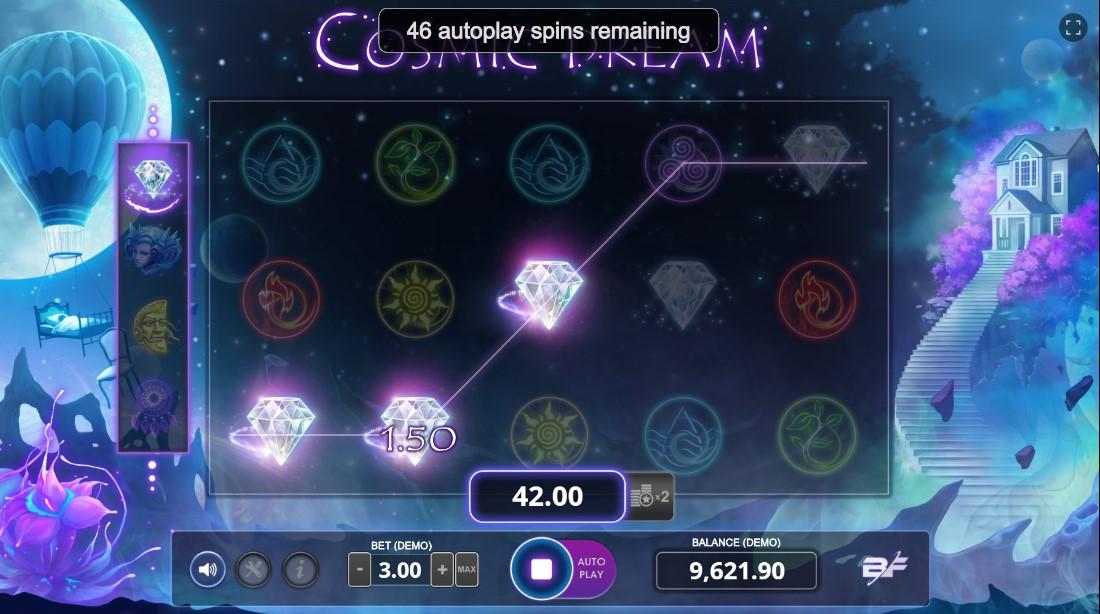 Игровой автомат Cosmic Dream