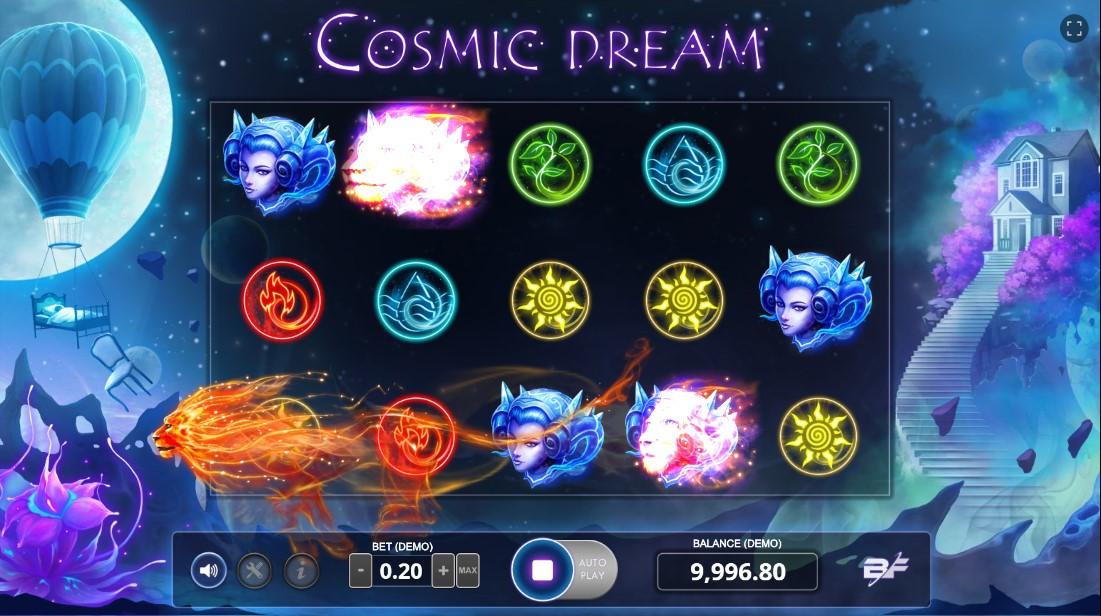 Слот Cosmic Dream играть бесплатно