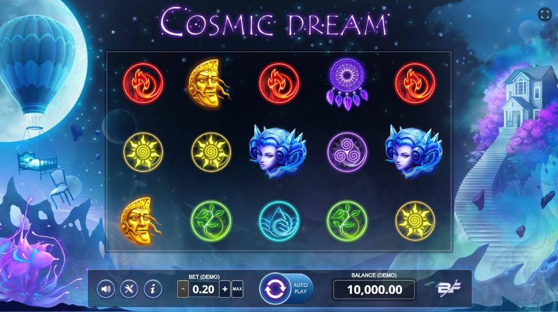 Cosmic Dream бесплатный игровой автомат