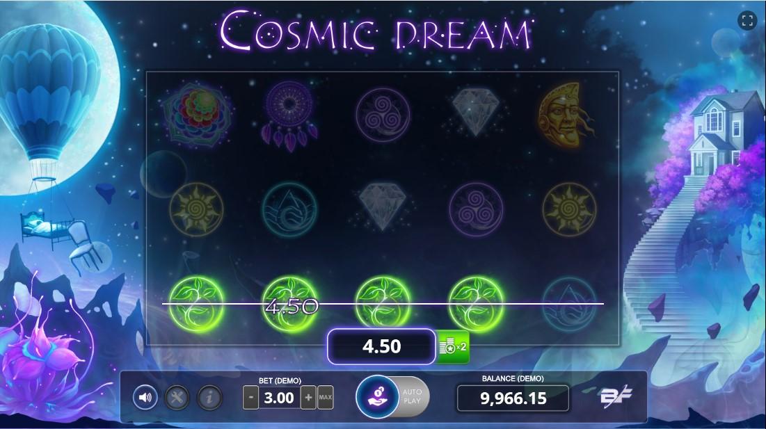 Играть онлайн Cosmic Dream