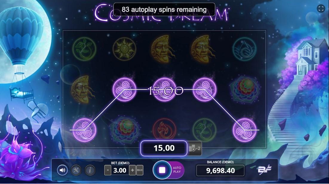 Онлайн слот Cosmic Dream