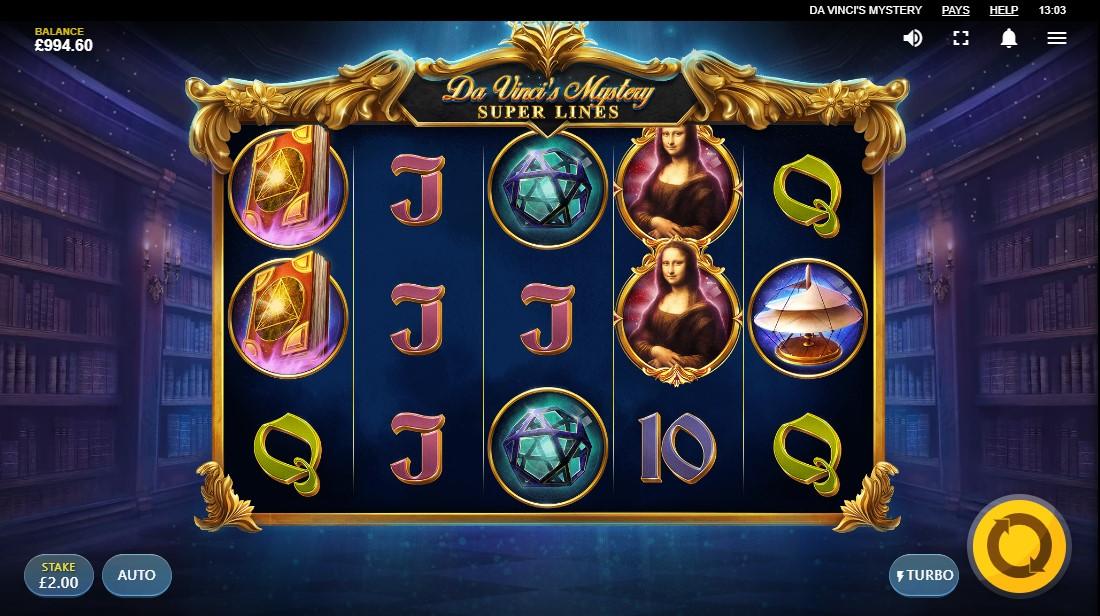 Da Vinci's Mystery игровой автомат