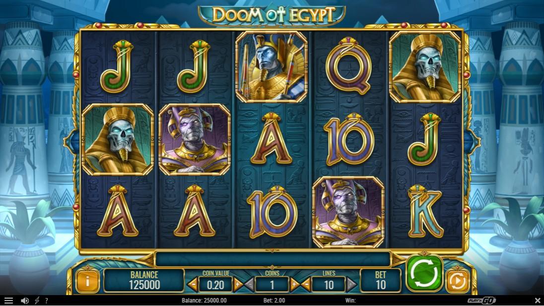Слот Doom of Egypt играть
