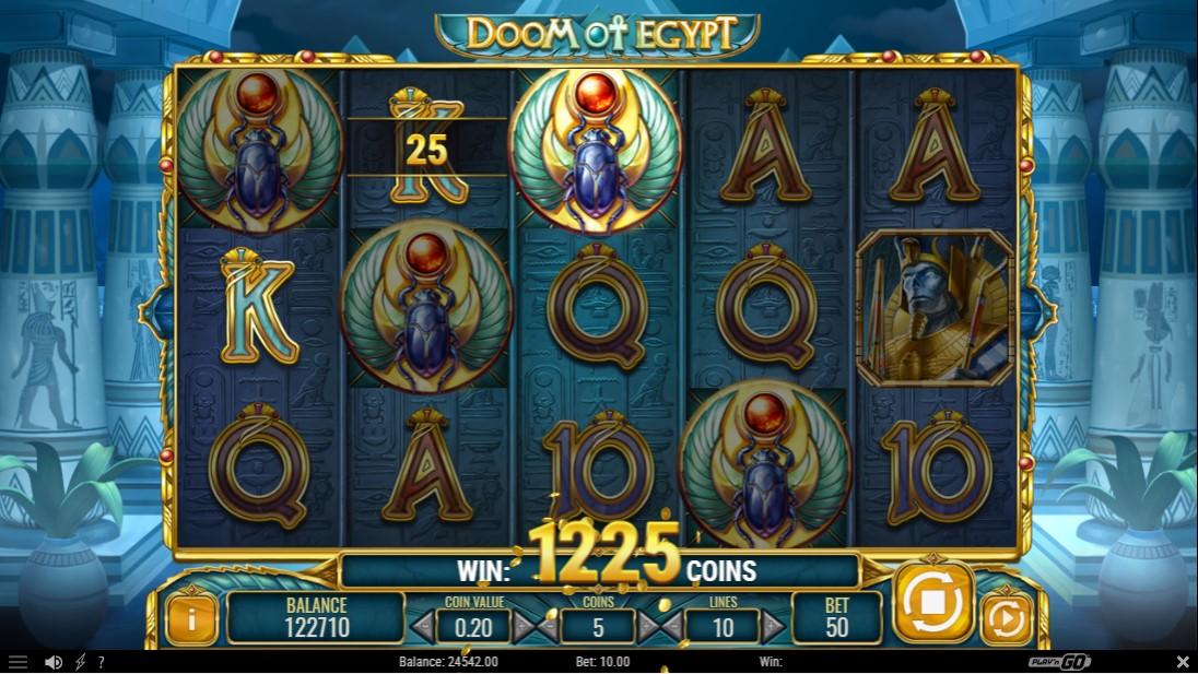 Doom of Egypt играть бесплатно