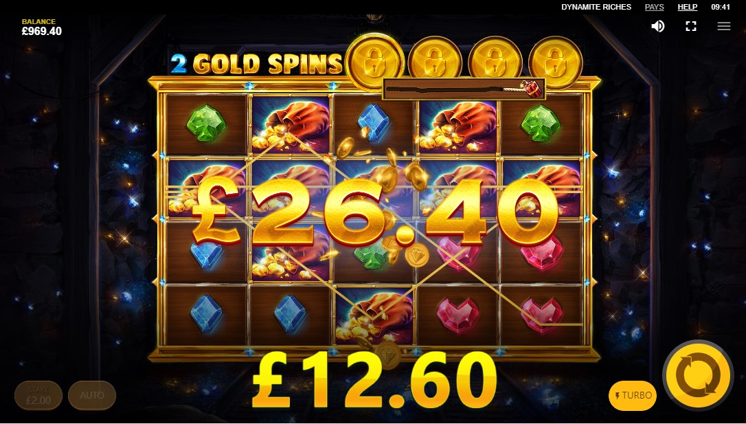 Играть онлайн Dynamite Riches