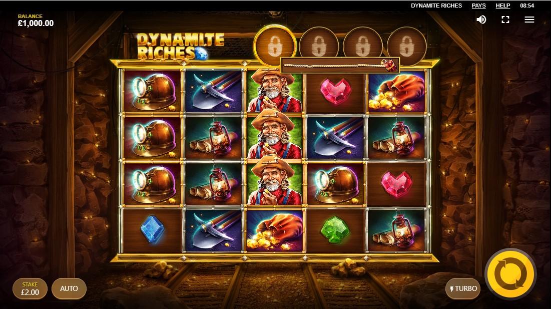 Dynamite Riches бесплатный слот