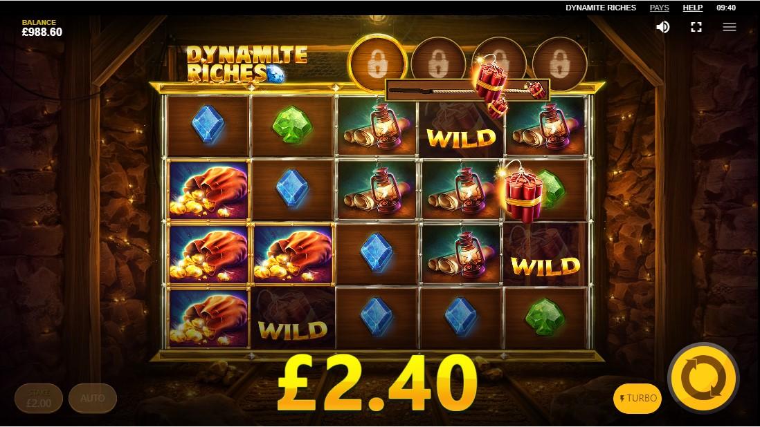 Играть онлайн Dynamite Riches бесплатно