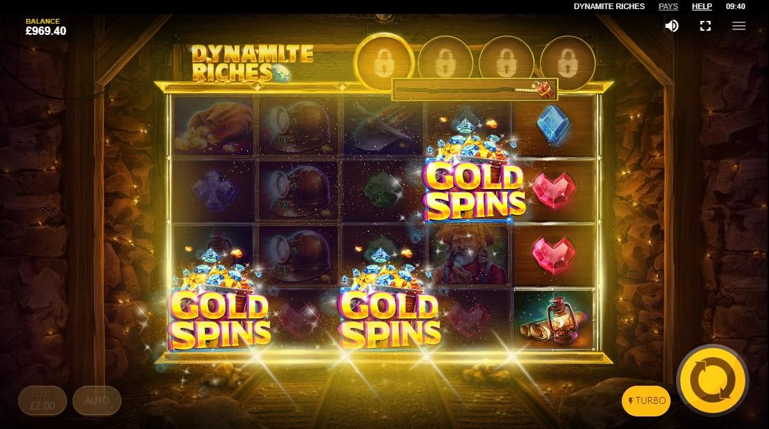 Слот онлайн Dynamite Riches играть