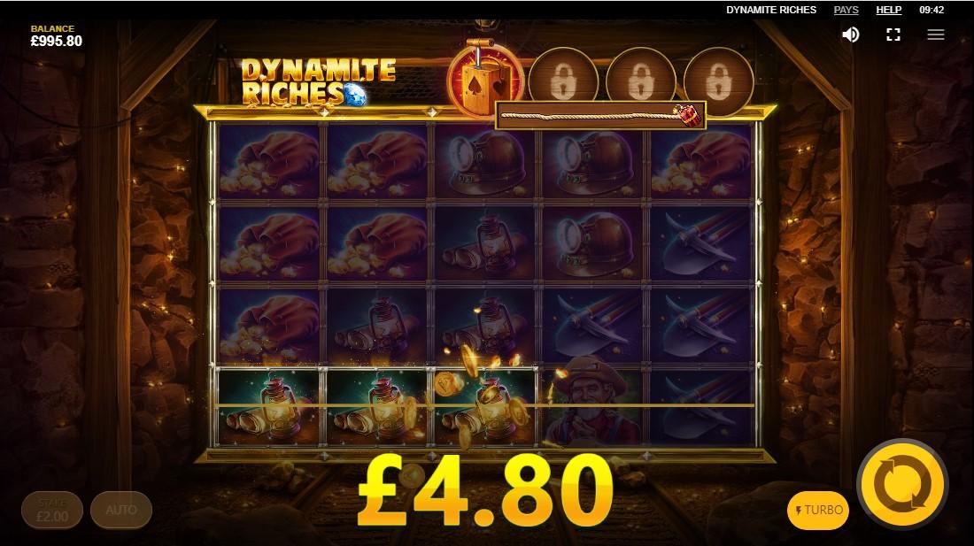 Бесплатный игровой автомат Dynamite Riches
