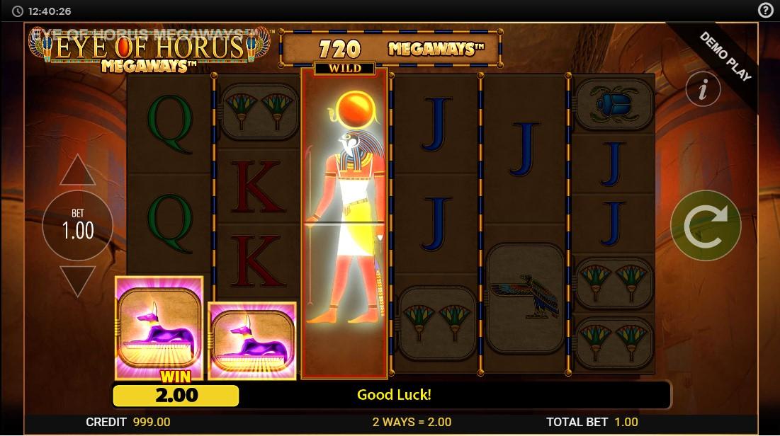 Игровой автомат Eye of Horus Megaways