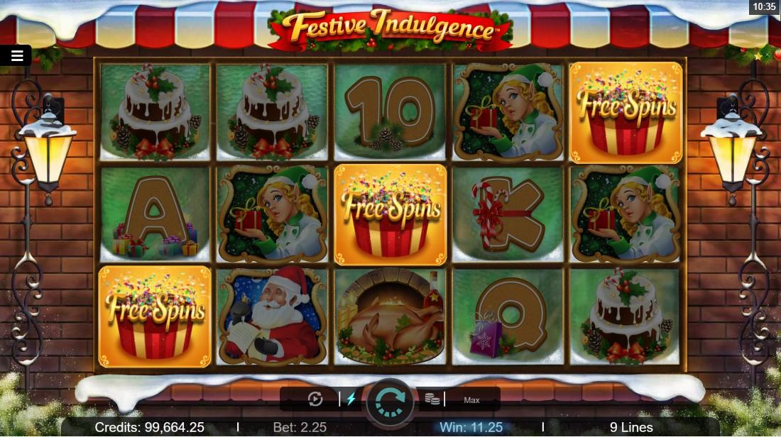 Онлайн слот Festive Indulgence