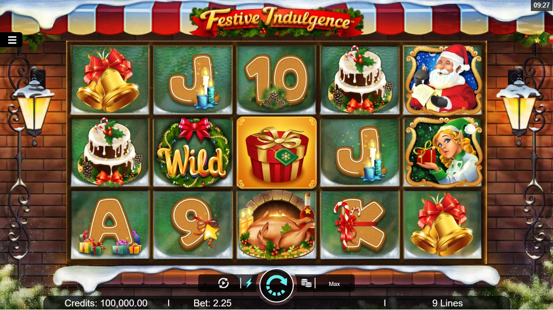 Festive Indulgence игровой автомат