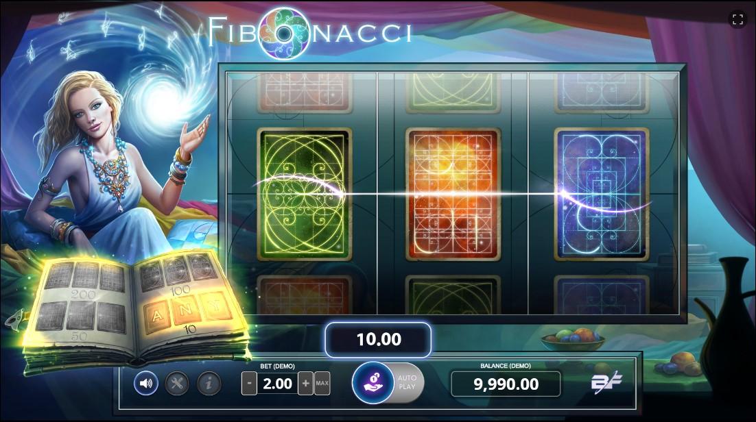 Онлайн слот Fibonacci