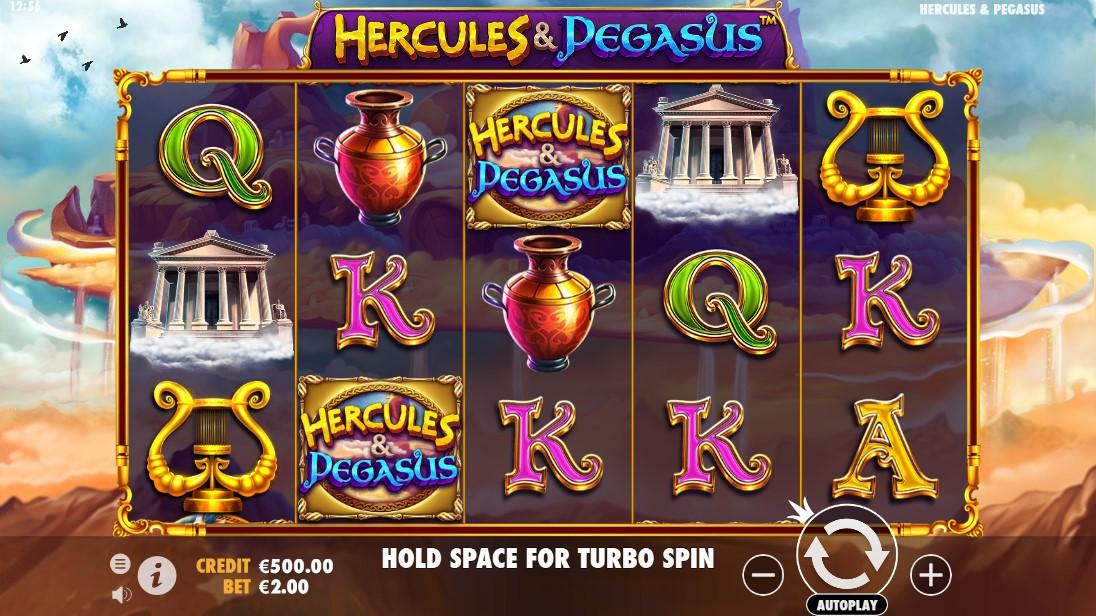 Играть бесплатно Hercules & Pegasus
