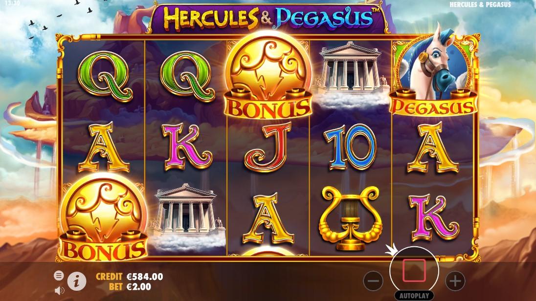 Онлайн слот Hercules & Pegasus играть бесплатно
