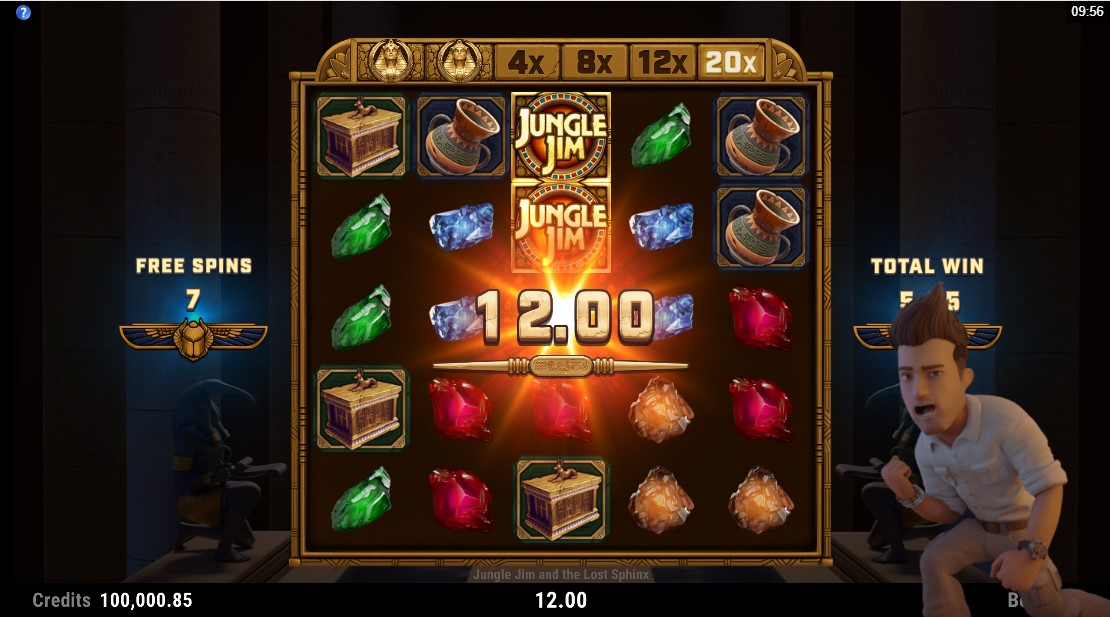 Игровой автомат Jungle Jim and the Lost Sphinx