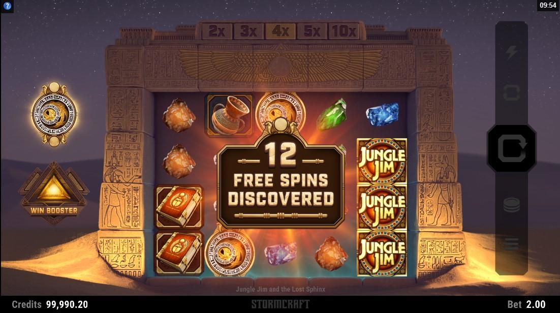 Слот Jungle Jim and the Lost Sphinx играть онлайн