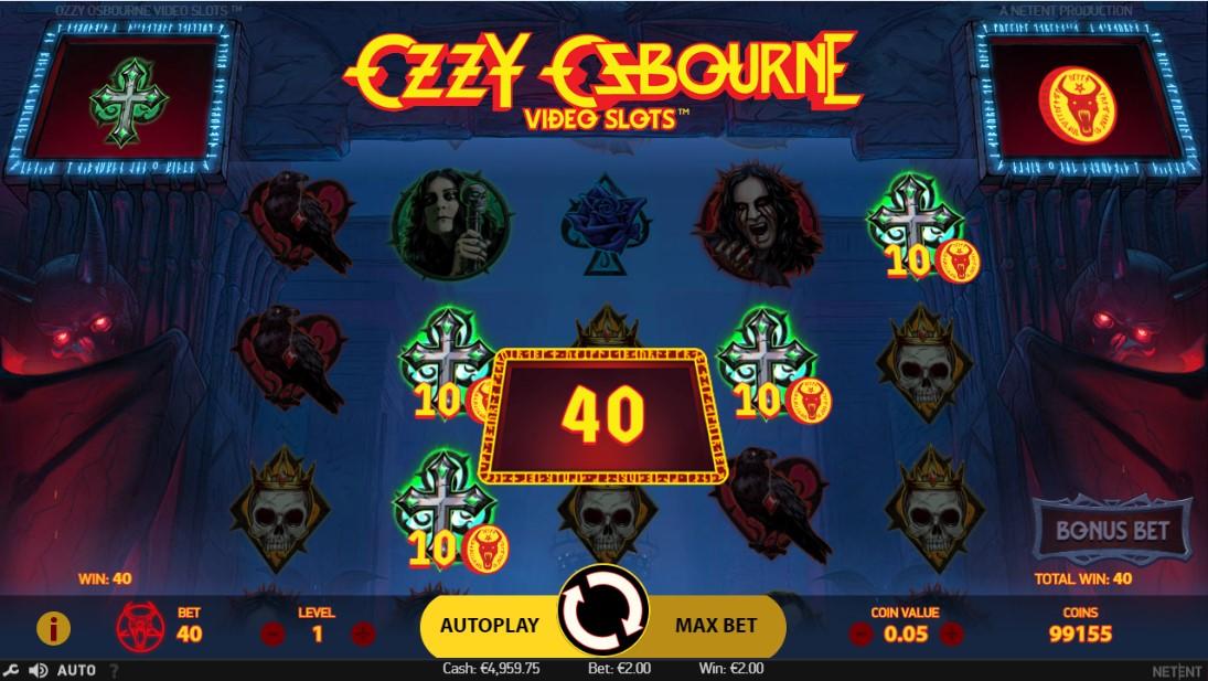 Слот Ozzy Osbourne играть