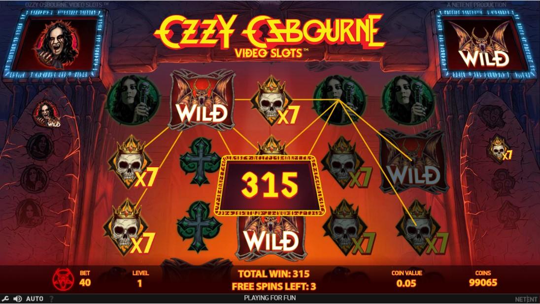 Игровой автомат Ozzy Osbourne