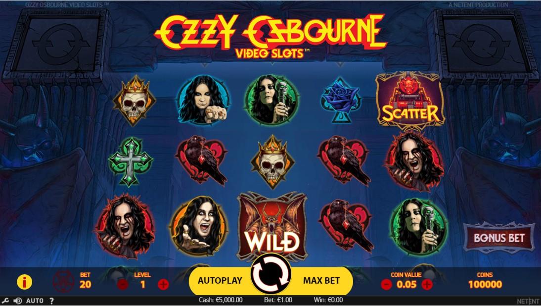 Играть бесплатно Ozzy Osbourne