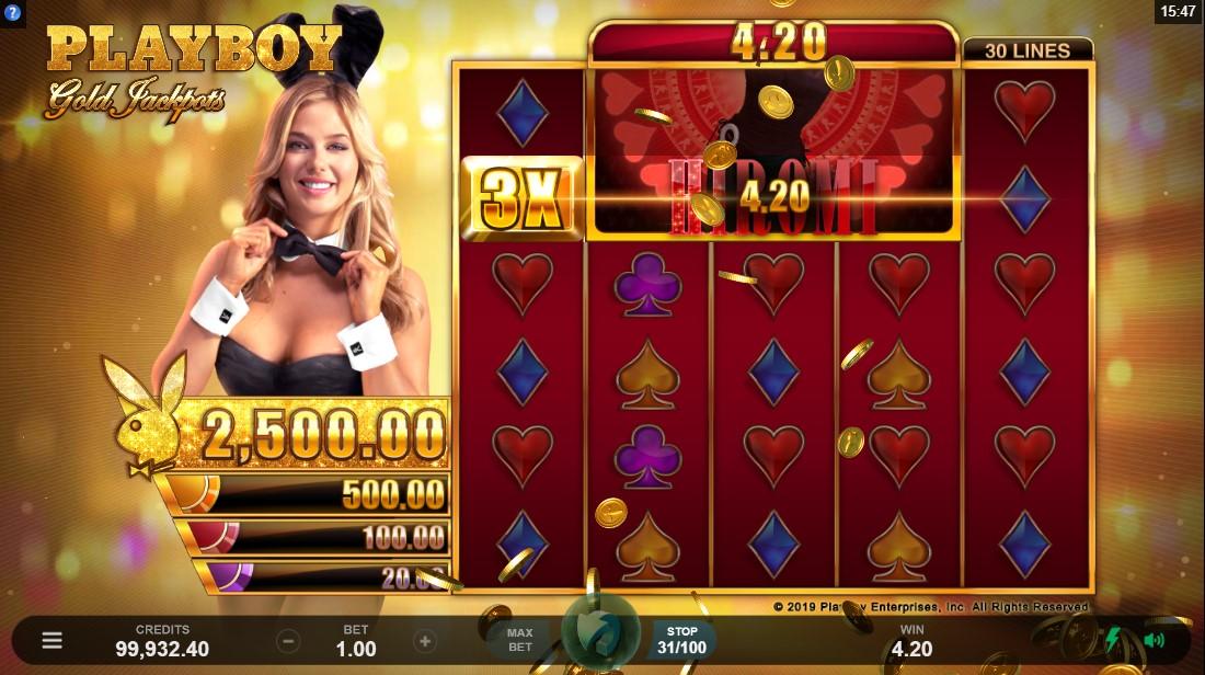 Слот Playboy Gold Jackpots играть