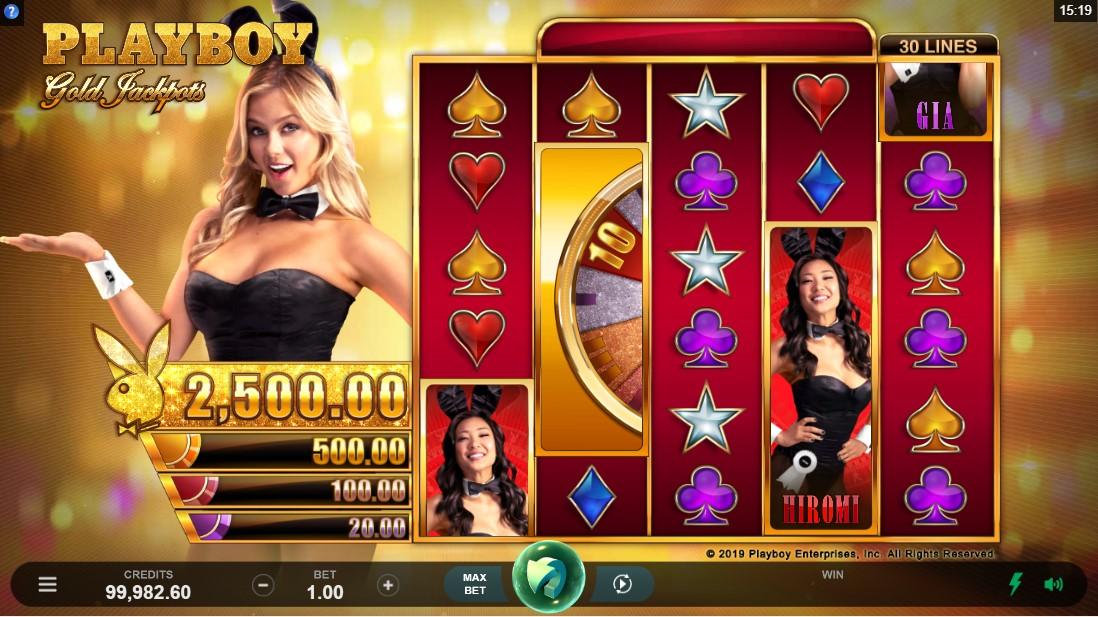 Playboy Gold Jackpots игровой автомат
