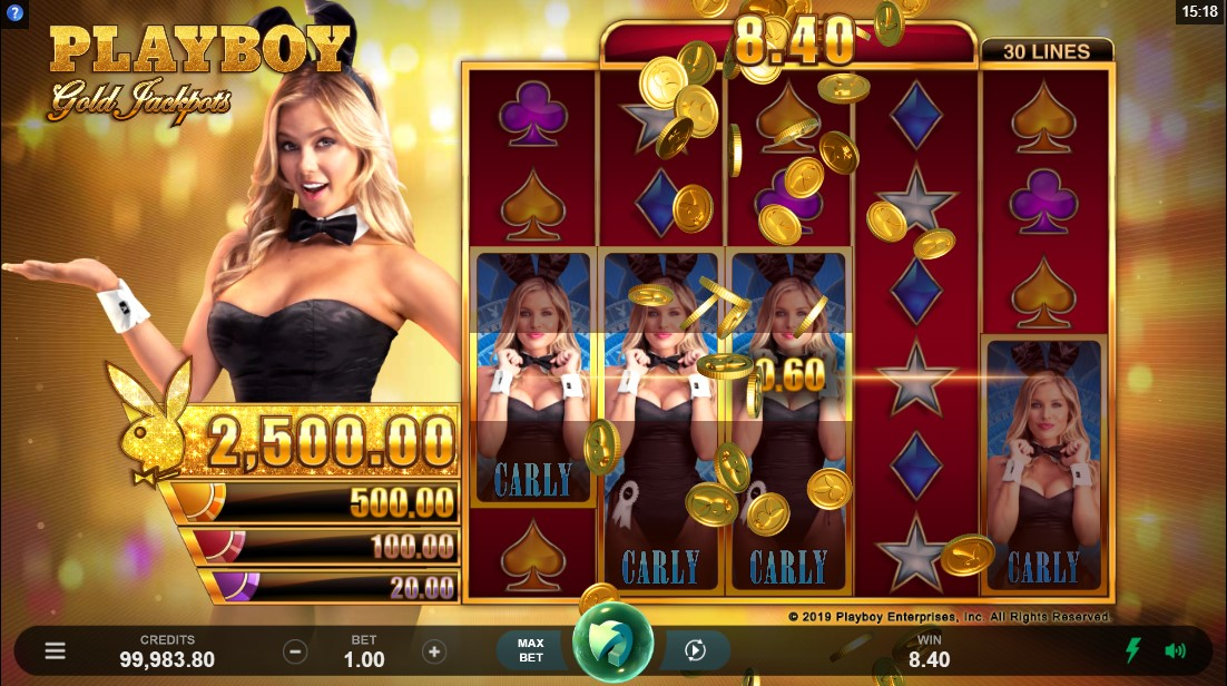 Онлайн слот Playboy Gold Jackpots