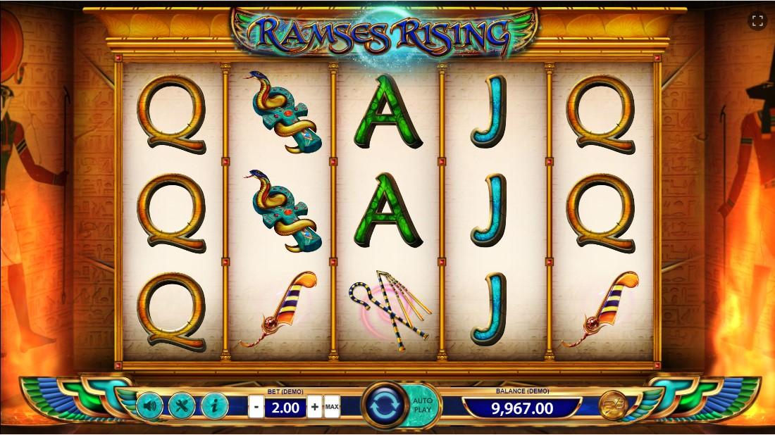 Ramses Rising играть бесплатно