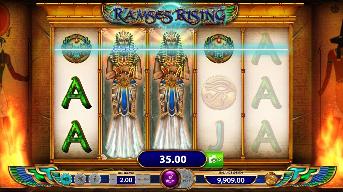 Слот Ramses Rising играть