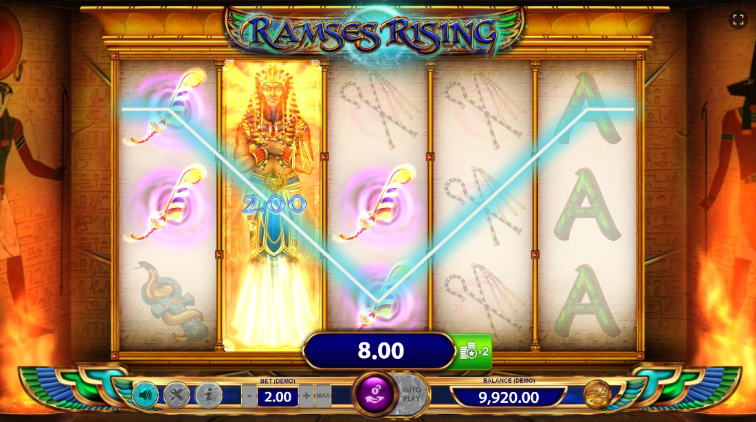 Бесплатный игровой автомат Ramses Rising