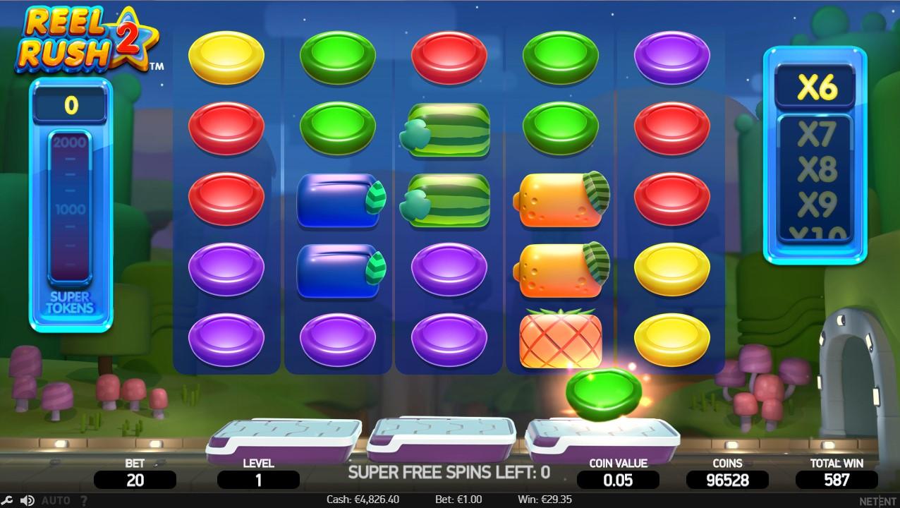 Игровой автомат Reel Rush 2