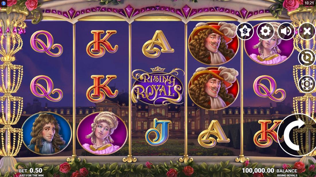 Онлайн слот Rising Royals
