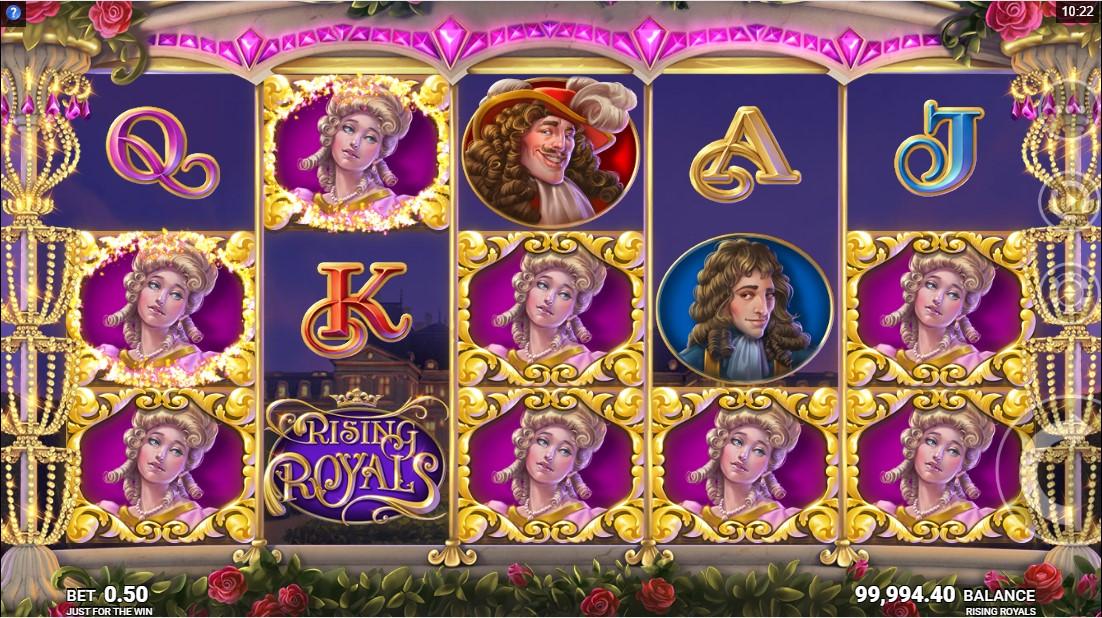 Слот Rising Royals играть бесплатно