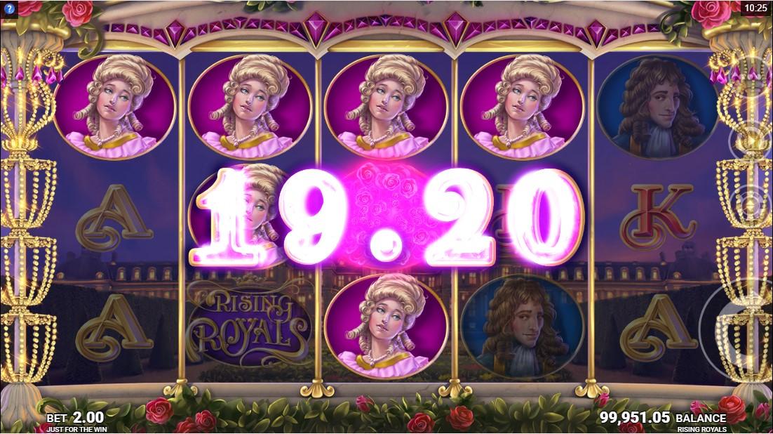 Игровой автомат Rising Royals