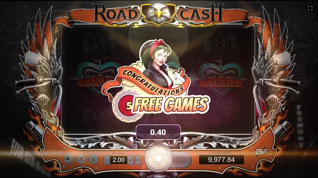 Игровой автомат Road Cash