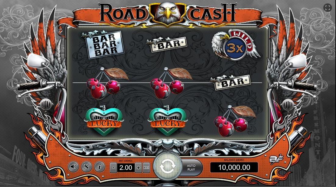 Road Cash бесплатный слот