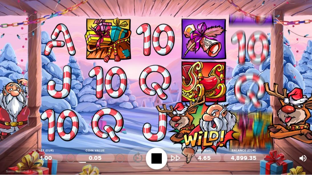Играть бесплатно Santa vs Rudolf