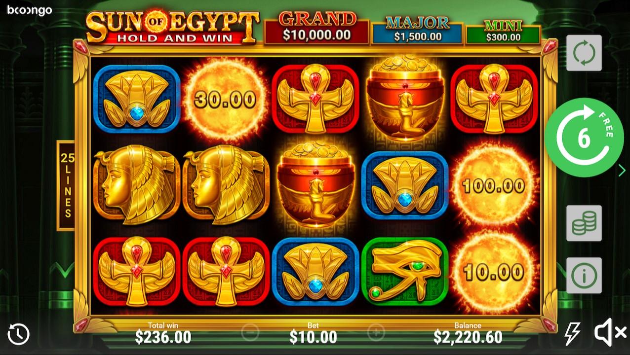 Игровой автомат Sun Of Egypt