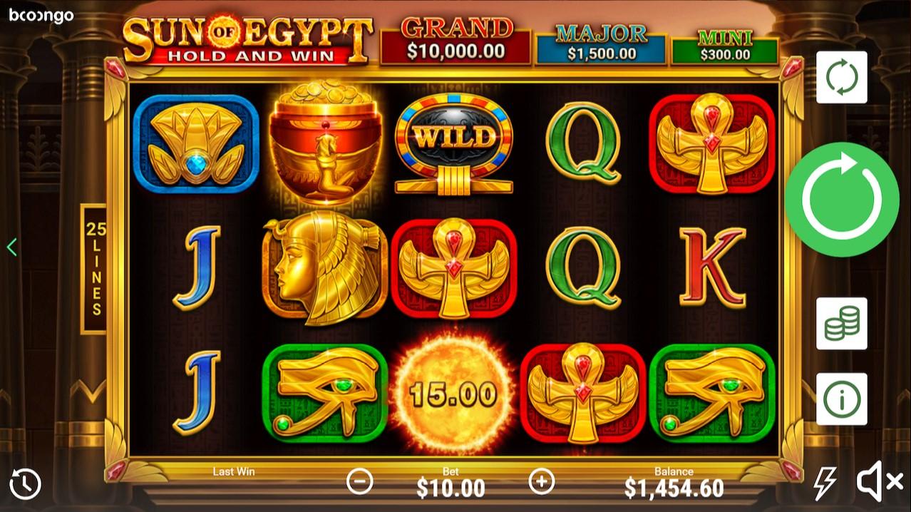 Играть бесплатно Sun Of Egypt