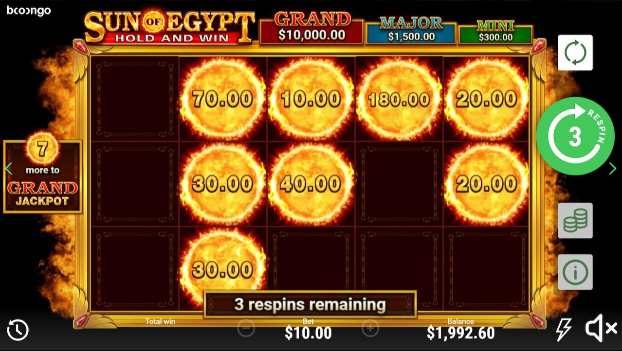 Слот Sun Of Egypt играть онлайн