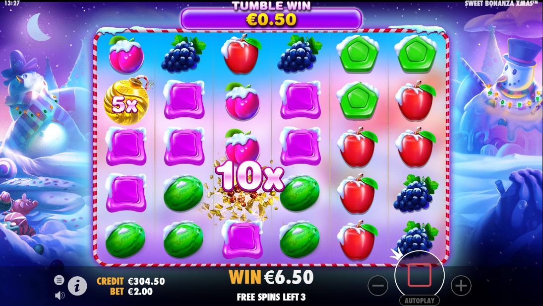 Игровой автомат Sweet Bonanza Xmas