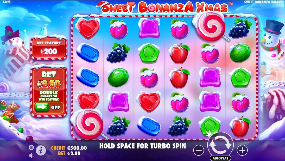 Sweet Bonanza Xmas бесплатный слот