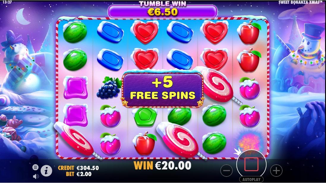 Sweet Bonanza Xmas играть онлайн