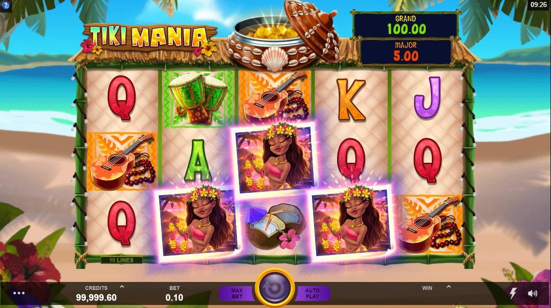 Tiki Mania игровой автомат