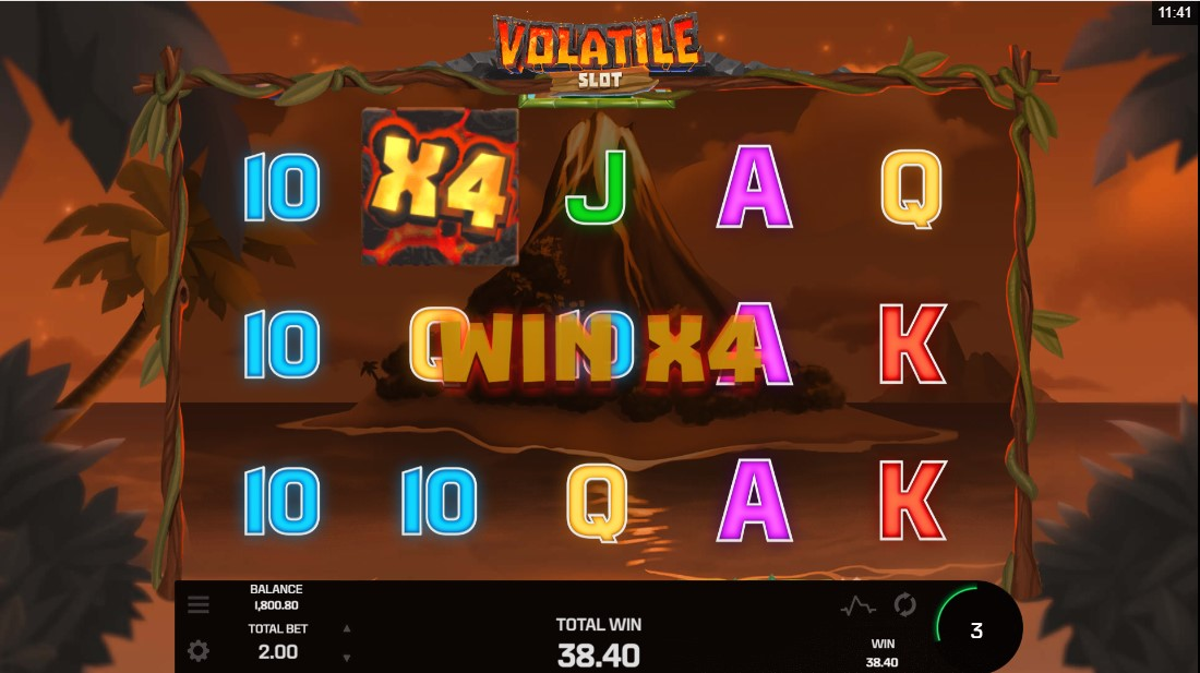 Игровой автомат Volatile Slot